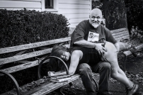 """""""Public Debauchery"""", DaddyO & TanyaToy, Portland, OR 2012. © Dave Haworth."""