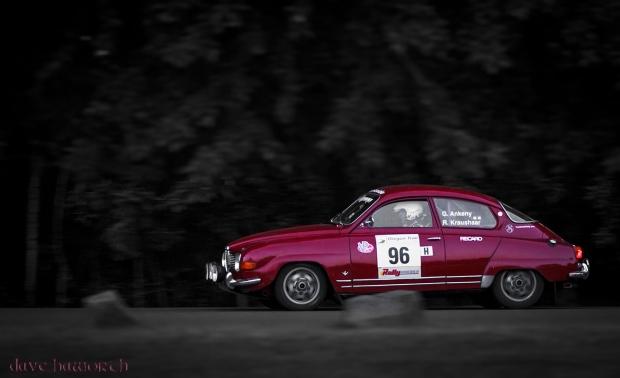 Garth Ankeny/Russ Kraushaar, Oregon Trail Rally @ Portland International Raceway, Oregon, 2013. © Dave Haworth.
