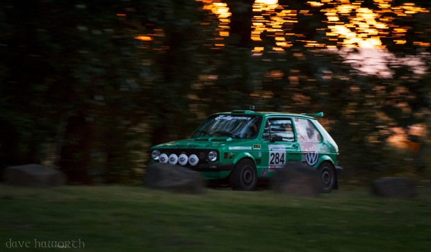Bryan Watson/Steven Warren, Oregon Trail Rally @ Portland International Raceway, Oregon, 2013. © Dave Haworth.